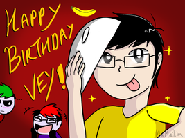Happy Birthday to Vey-Kun!!! by MaiMaiLim