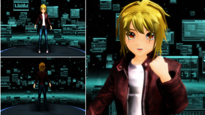 [MMD x Videogame] Takemoto by LoverCathy