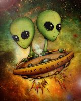 Aliens by CatherineDS