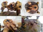 Superheavy Assault Walker by mangozac