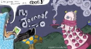 DA Journal Header by DaleksinWonderland