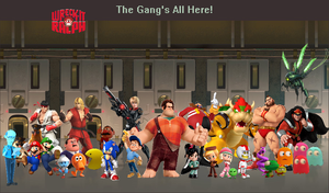 Wreck-It Ralph - The Gang's All Here! by ClariceElizabeth