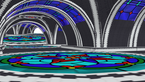 MMD Underground - Stain Glass Stage by mbarnesMMD