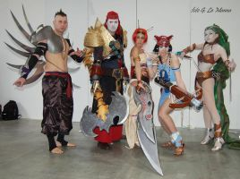 Heavenly Sword Group by AuraRinoa
