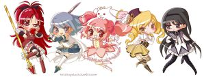 Madoka All by mystcloud