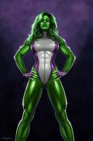 She-Hulk by Moff1