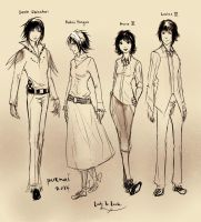 LnL: cast of characters. by purenai