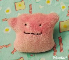 Ditto plush by Paleona