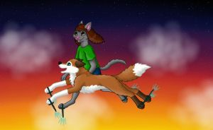 We can fly! :D by Tienala