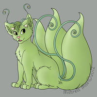 Hedera Sphynx Collaboration by Stormweaver-Arts