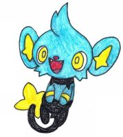 shinx by FrozenFeather