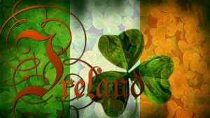 Flag of Ireland Wallpaper by grednforgesgirl