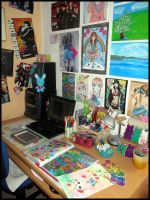 My workplace by ateljEE