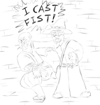 I CAST FIST by TomQuoVadis