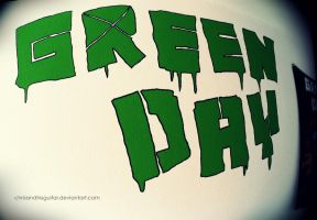 Green Day Paint by ChrisAndHisGuitar