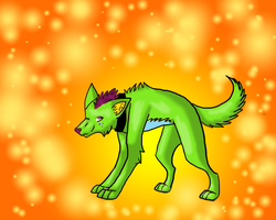 Kino the Punk.... my style :3 by neomon