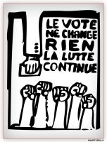 Le Vote Ne Change Rien by kurtoglu