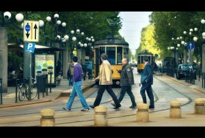 The Beatles by Bojkovski