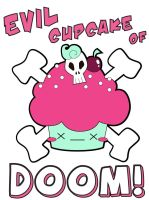 Evil Cupcake of Doom Revamp by the-only-halo