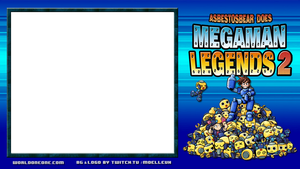 Mega Man Legends 2 Stream Background / Skin by Moelleuh