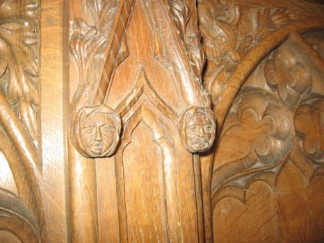 church carving by timpeekwoodcarving