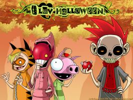 I LUV HALLOWEEN- Wallpaper by Sweetsville