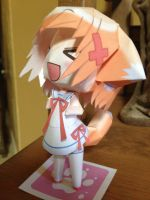 Fox girl papercraft by nekonyan3