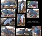 Zipper-Mouthed Shark by Avery07