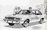 Ford LTD Police Coloring Sheet #2 by ryanthescooterguy