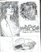 Early Designs for My Graphic Novel by fmvra1s