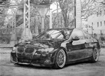 BMW E92 Coupe by althar338