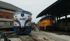 MARC F7 and BO GP38 at the Museum by JamesT4