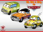 The Eds As Cars by TheEdMinistrator765