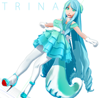Trina MMD Commission by chatterHEAD