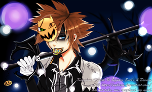 Kingdom Hearts - Trick or treating? by nyharu