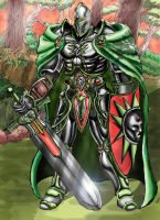 Emerald Knight by Obsidianwatcher