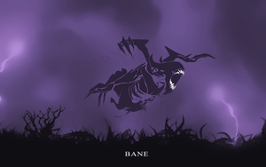 Dota 2 Bane Vector Wallpaper by VudzO