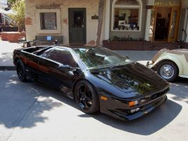 black on black Lambo Diablo by Partywave