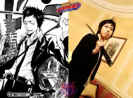 KHR Manga Vs Cosplay: Takeshi by NekoFlameAlchemist