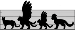 Height Chart by Hawksfeathers97