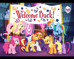 Welcome back, dear by AlberBrony