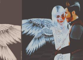 Angel and DEvil by katiesockpuppet