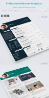 Professional Resume Template by hazratali2020