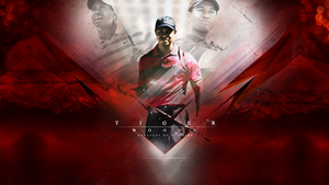 Tiger Woods by slkscrn