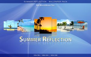 Summer Reflection Wpack by yt458