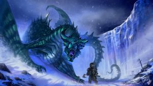 Rhaegal and Tyrion by ZacART