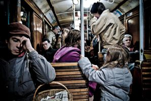 In the metro by anahuac