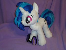 DJ Pon-3/ Vinyl Scratch Plush by My-Little-Plush