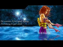 FFX - Yuna's Eternity by hythrain