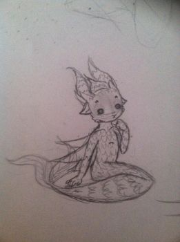 More of the Small Water Fairy Creature by myinsanebestfriend